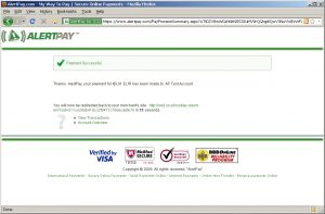 oxid payment alertpay10