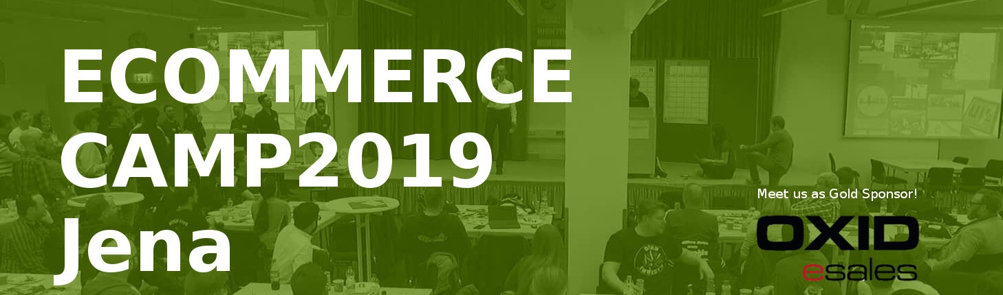 e-commerce camp jena 2019 banner