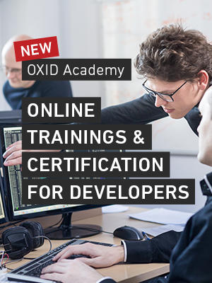 OXID Online Trainings and Certification