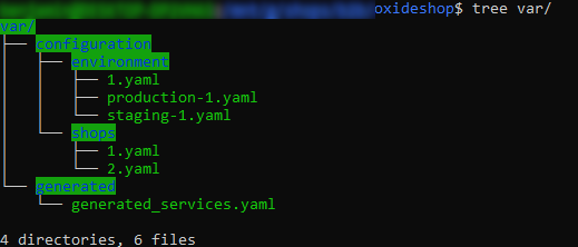 Copied and renamed e.g. production-1.yaml to 1.yaml, will be considered as long as no changes are done in the module section of the admin area